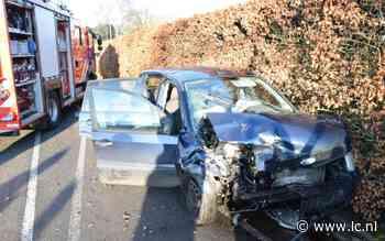 Drie gewonden na aanrijding tussen twee auto's bij Eastermar - Leeuwarder Courant