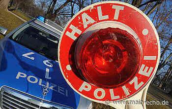 BMW-Fahrer versucht vor Polizeikontrolle nach Sailauf zu flüchten - Main-Echo