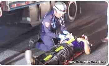 En la vía hacia Cumaral, este hombre infartado evitó una tragedia - Extra Boyacá