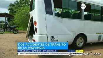 Provincias Accidente de tránsito en Cañazas deja tres personas heridas - TVN Panamá