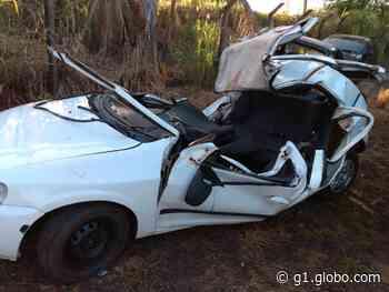 Três pessoas morrem em acidente na PR-182, em Loanda - G1