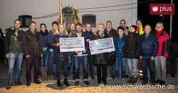 Erlös der Dorfplatzeinweihung in Oberessendorf geht an zwei Institutionen - Schwäbische