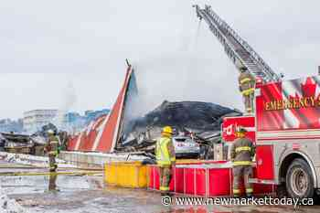 Packing plant on fire at ATV Farms in Holland Landing - NewmarketToday.ca