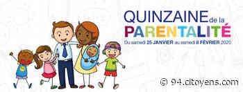Quinzaine de la parentalité à Chevilly-Larue - 94 Citoyens