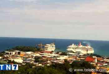 Tres cruceros llegaron este martes a puerto Limón - Teletica