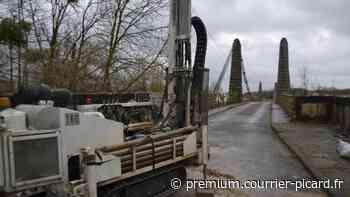 La réhabilitation du pont suspendu de Lacroix-Saint-Ouen prévue en 2021 - Courrier picard