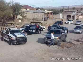 Desesperados policías de Sonoyta; les deben tres quincenas - Opinión Sonora