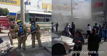 Explota puesto clandestino de cuetes en pleno Centro de Sonoyta - Opinión Sonora