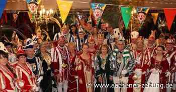Karnevalisten unter sich: Treffen der Tollitäten in Erkelenz - Aachener Zeitung