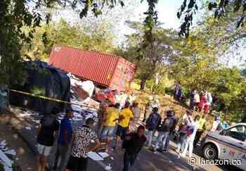 Grave accidente de tránsito en vía Ciénaga de Oro – La Ye - LA RAZÓN.CO