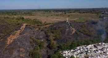 Reportan incendio forestal en el cerro El Salvador en Ciénaga de Oro - LA RAZÓN.CO