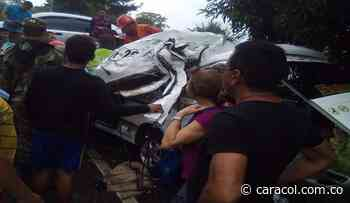 Tres muertos en un accidente en la vía que comunica a Montería y Sincelejo - Caracol Radio
