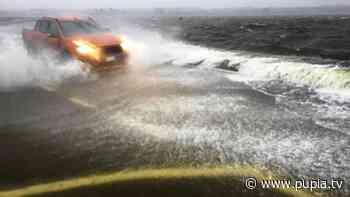 Maltempo in Campania: esonda lago Patria, crolla ponte sul Sarno, chiusa la Telesina - PUPIA