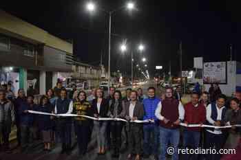 MUNICIPIOS | Entrega Luis Alberto Arriaga obras de infraestructura urbana en San Pedro Cholula - Reto Diario