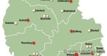 Kreissparkasse Bitburg-Prüm schließt vier Filialen: Bettingen, Bollendorf, Waxweiler und Mettendorf. - Trierischer Volksfreund