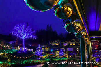 Holiday spirit lights up Butchart Gardens in Brentwood Bay - Sooke News Mirror