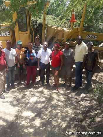 Alcalde de las Matas de Farfán deja iniciado los trabajos de intervención y limpieza del arroyo El Cachón - Periódico El Caribe - Mereces verdaderas respuestas - El Caribe