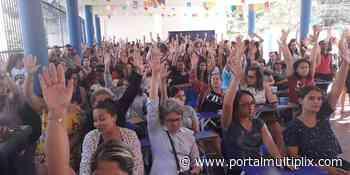 Em Cachoeiras de Macacu, greve dos profissionais da educação chega ao quinto mês - Portal Multiplix