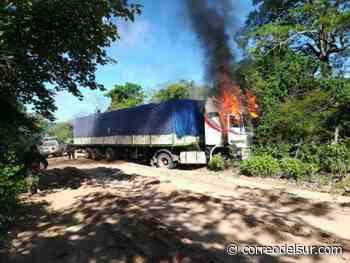 Contrabandistas emboscan a Aduana y FFAA en Abapó, Santa Cruz - Correo del Sur