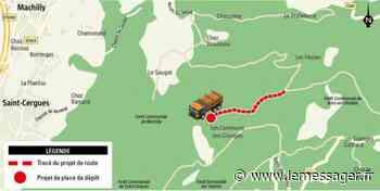 Bons-en-Chablais : un vieux projet de desserte forestière sorti des cartons - Le Messager