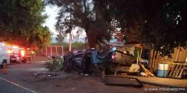 Choque carretero en Zapotiltic deja cuatro muertos - EL INFORMADOR
