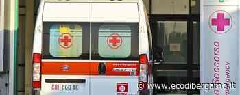 Lallio, scontro tra una moto e un'auto Volo di cinque metri, giovane grave - L'Eco di Bergamo