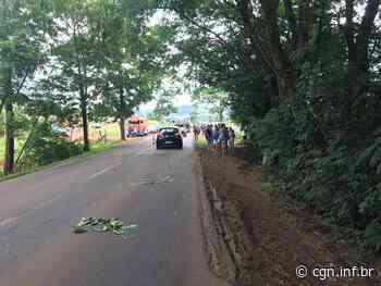 Salto do Lontra: Acidente deixa um morto e três feridos - CGN