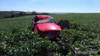 Homem morre após carro capotar na PR-471, entre Salto do Lontra e Nova Prata do Iguaçu - CGN