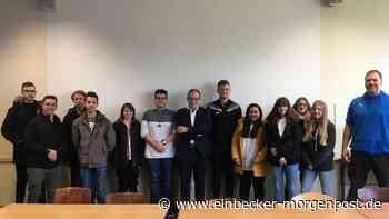 Abgeordneter besucht Rainald-von-Dassel-Schule - Einbecker Morgenpost