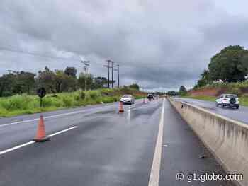 Reparo em trecho interditado da SP-425 em Pirapozinho depende de estiagem, diz Polícia Militar Rodoviária - G1