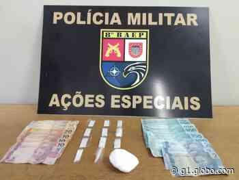Com porções de cocaína em recipiente com arroz, morador de Pirapozinho é preso por tráfico de droga - G1