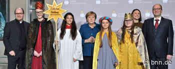 Sternsinger aus Renchen bei Empfang der Bundeskanzlerin - BNN - Badische Neueste Nachrichten