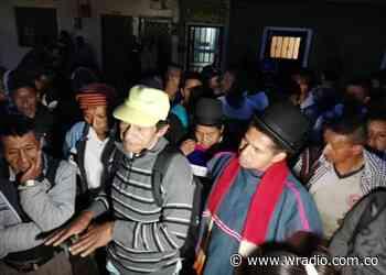 Indígenas Misak protestan en la vivienda del alcalde de Piendamó, Cauca - W Radio