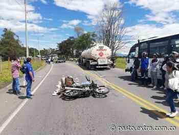 Motociclista que murió en fatal accidente en Cauca era de Taminango, Nariño - Extra Pasto