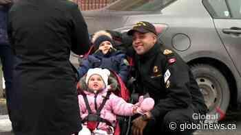 HMCS Glace Bay and Shawinigan depart Halifax | Watch News Videos Online - Globalnews.ca