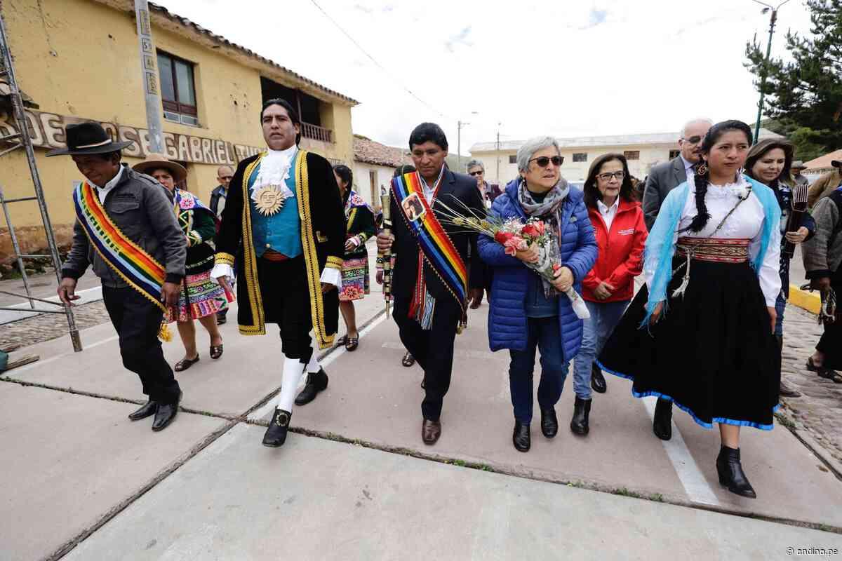 Ya es oficial: casa de Túpac Amaru II en Tungasuca es Patrimonio Cultural de la Nación - Agencia Andina