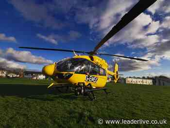 Air ambulance responds to 'unresponsive person' in Plas Madoc - LeaderLive