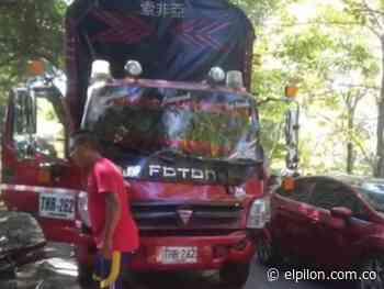 Accidente múltiple en Curumaní deja un herido - ElPilón.com.co