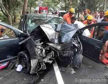 Viaje familiar deja dos muertos en accidente en Curumaní - ElPilón.com.co