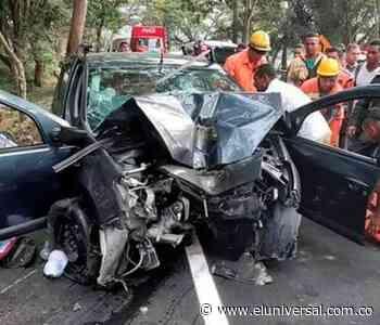 Accidente de tránsito en Curumaní deja dos muertos y dos heridos - El Universal - Colombia