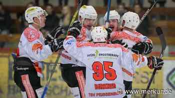 Eishockey Bayernliga TSV Peißenberg Eishackler bezwingt EHC Waldkraiburg Löwen | TSV Peissenberg - Merkur.de