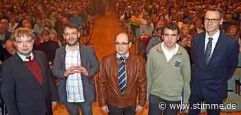 Bei der Wahl in Brackenheim zeichnet sich ein klarer Favorit ab - Heilbronner Stimme
