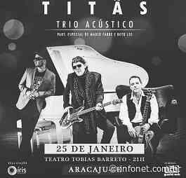 Titãs se apresentará no Tobias Barreto neste sábado - Infonet