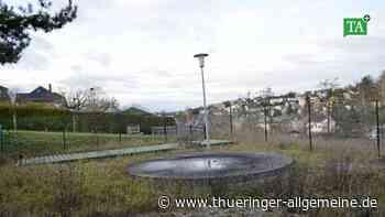Ein Spielplatz, der keinen Platz hat - Thüringer Allgemeine