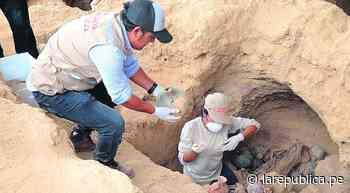 Túcume: Descubren 15 entierros humanos de la época incaica [VIDEO] - LaRepública.pe