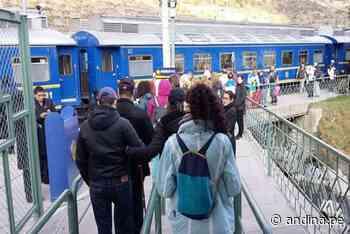 Declaran en alerta roja vía férrea Ollantaytambo-Machu Picchu ante lluvias - Agencia Andina