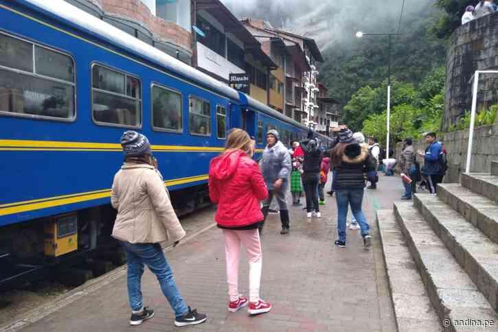 Restringen servicio de trenes de Cusco-Ollantaytambo y viceversa debido a lluvias - Agencia Andina