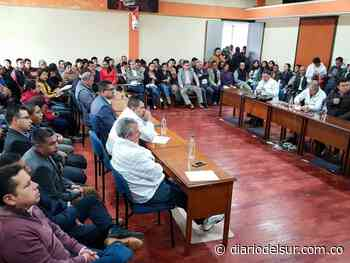 Alcalde y concejales de Túquerres no podrán acabar periodos - Diario del Sur
