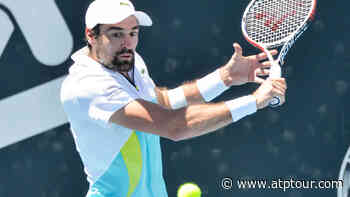 Jeremy Chardy Defeats Gilles Simon In Adelaide - ATP Tour