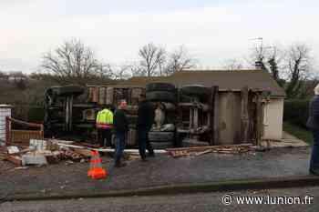 Un camion se couche dans une propriété à Villiers-Saint-Denis - L'Union